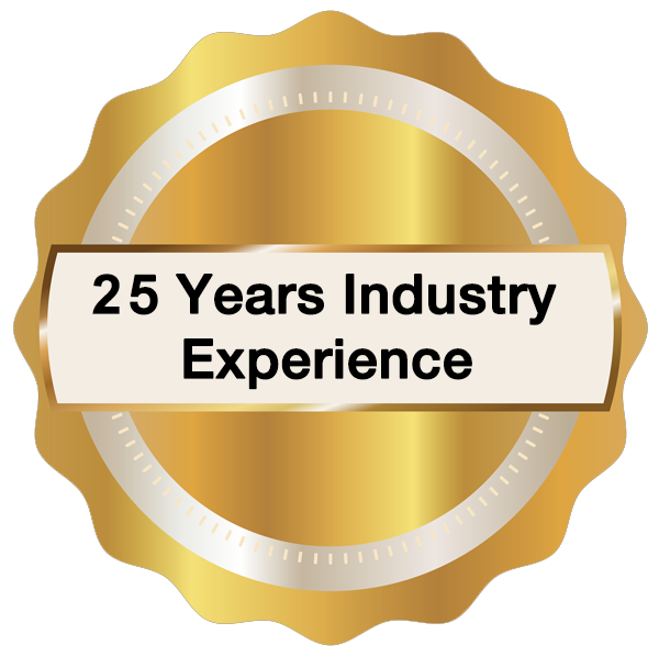 15 Years Industry Experience